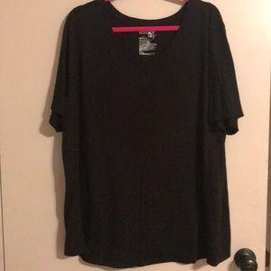 Terra & Sky black t-shirt. 2X
